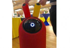 BIG-i robot butler understands voice commands