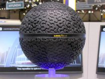 Goodyear presents 3D-printed spherical tire