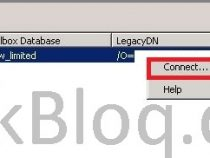 Connect a deleted mailbox on Exchange server 2007/2010