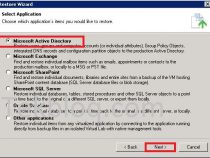Microsoft Active Directory Object Restore on Veeam Backup & Replication 9