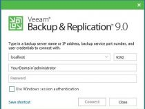 How to Install and configure Veeam Backup and Replication v9