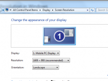 Change the Display Resolution in Windows