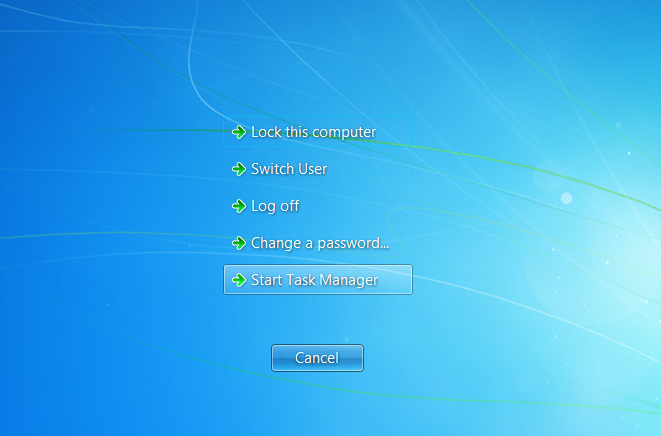 Windows 7 file recovery applet
