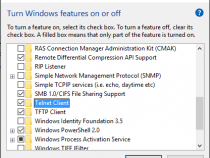Enable Telnet In Windows  Client