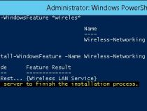 Enable Wireless in Windows Server 2012 and 2016