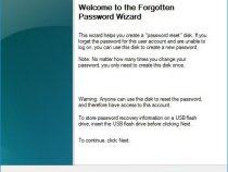 Create a Password Reset USB on Windows 10