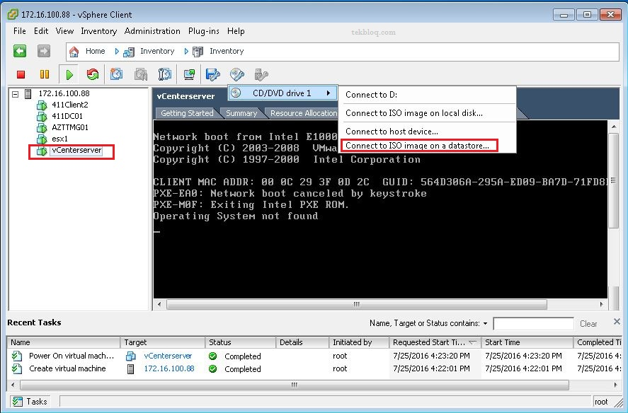 how to create a windows 7 virtual machine with vmware