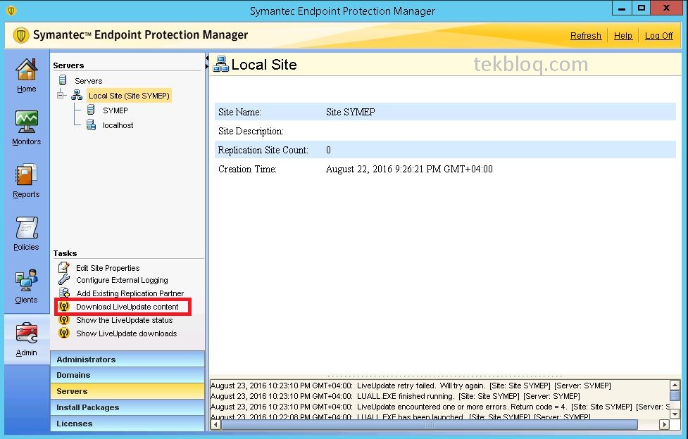 Make Updates Available Outside of Configuration Manager