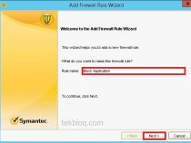 Creating firewall policy rules on Symantec Endpoint Protection 12.1.6