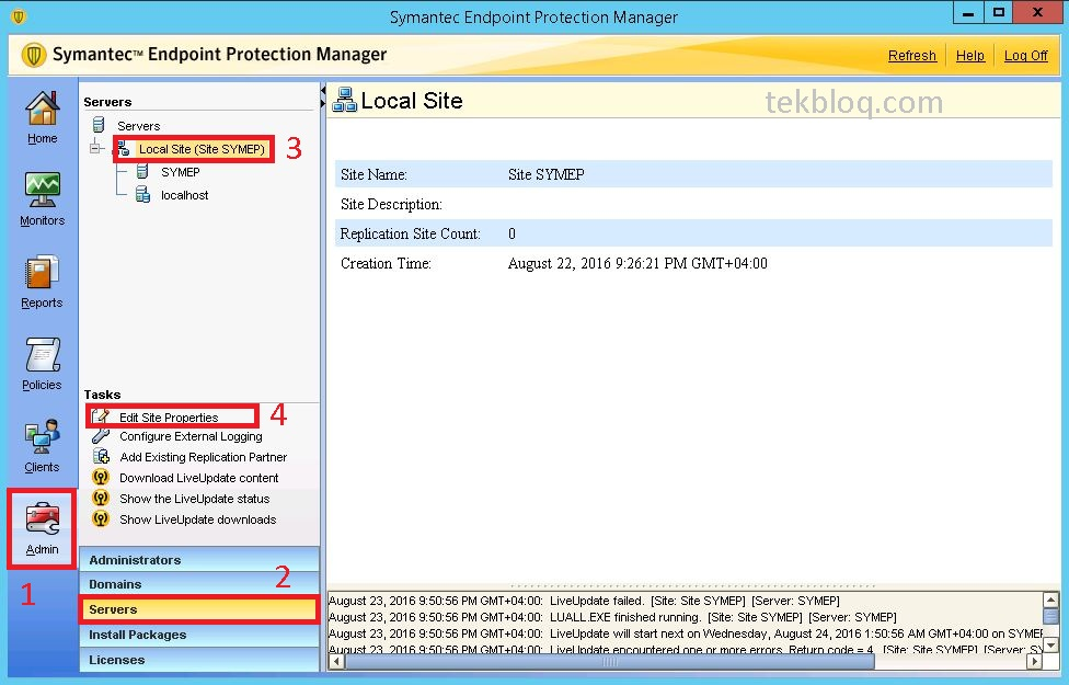 Symantec endpoint protection 12. 1. 3 not updating on windows 8 pro.
