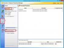 Creating a firewall policy on Symantec Endpoint Protection 12.1.6