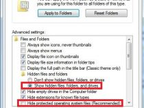 HOW TO VIEW HIDDEN FILES & FOLDERS IN WINDOWS 7