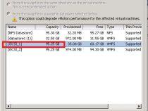 """Swap datastore is unset"" warning on Vmware"