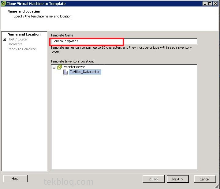 How to Create VMware Templates? | TekBloq