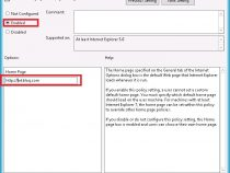How to set Internet Explorer Home Page via GPO?
