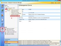 Exporting and importing server settings on Symantec Endpoint Protection 12.1.6