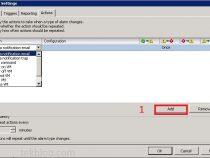 Configuring VMware vCenter Server Alarms