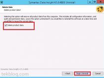 How to Uninstalling Symantec Data Insight 4.5
