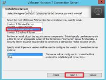 Installing Security Server on Horizon View 7