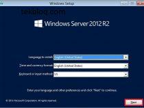 How to Install Windows Server 2012 R2 server
