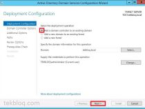 Install an Additional Active Directory Domain Controller With Windows Server 2012 R2