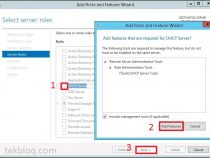 Installing the DHCP Server Role on Windows server 2012 r2