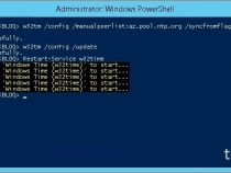 Configuring external time source on your Primary Domain Controller