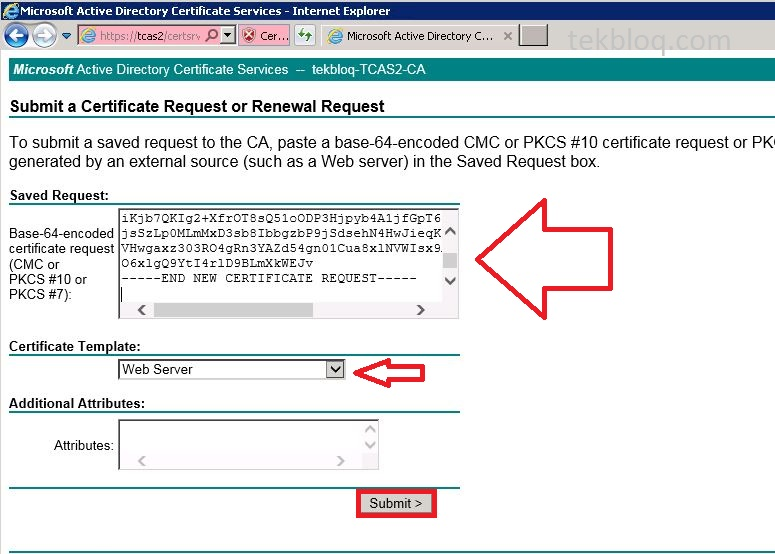 Create certificate for exchange 2010 servers using windows ca download certificate yelopaper Choice Image