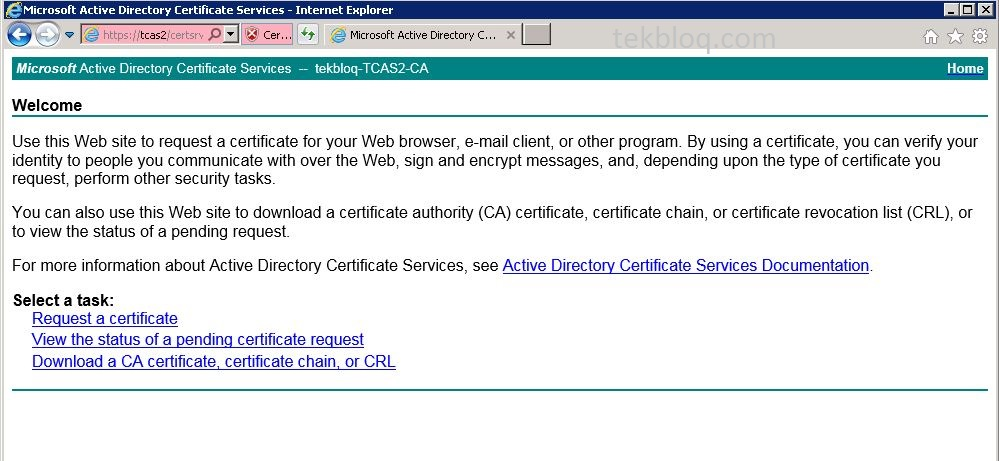 How to Install Active Directory Certificate Services | TekBloq
