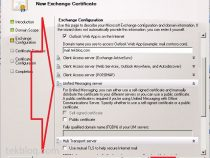 Create certificate for exchange 2010 servers using windows CA