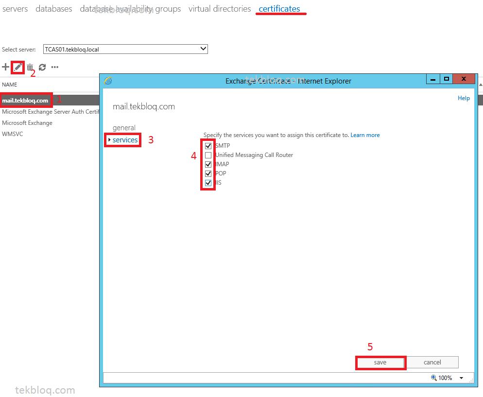 Configure exchange server 2013 certificate tekbloq 8certexportejdd2013 xflitez Images